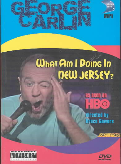 GEORGE CARLIN:WHAT AM I DOING IN NJ BY CARLIN,GEORGE (DVD)