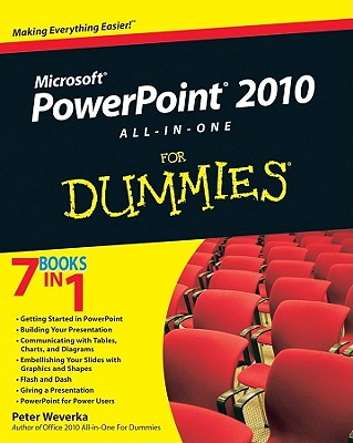 PowerPoint 2010 All-in-One For Dummies By Weverka, Peter